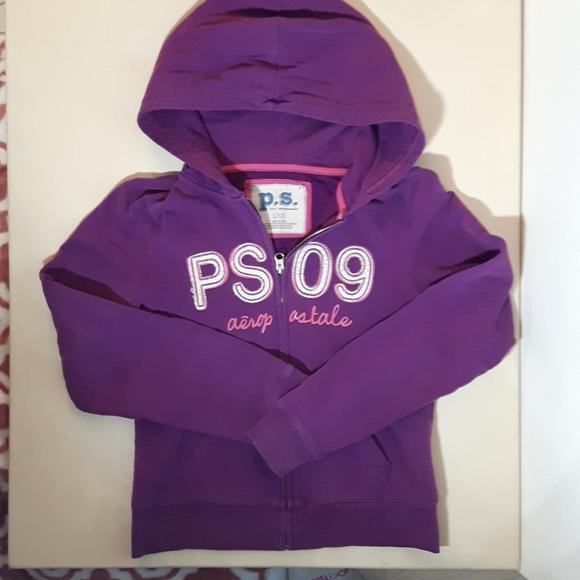 Little girls aeropostale hoodie Size L12